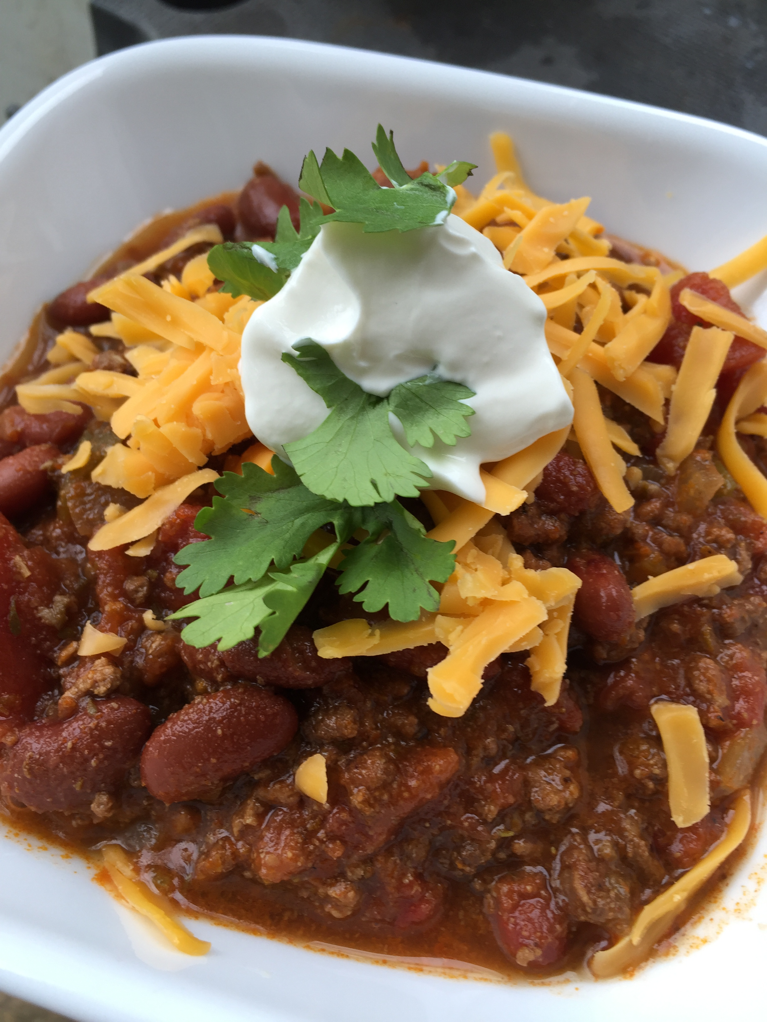 Homemade Chili Recipe- Easy, Simple Beef Chili Recipe