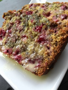 Cranberry Orange Bread Slice