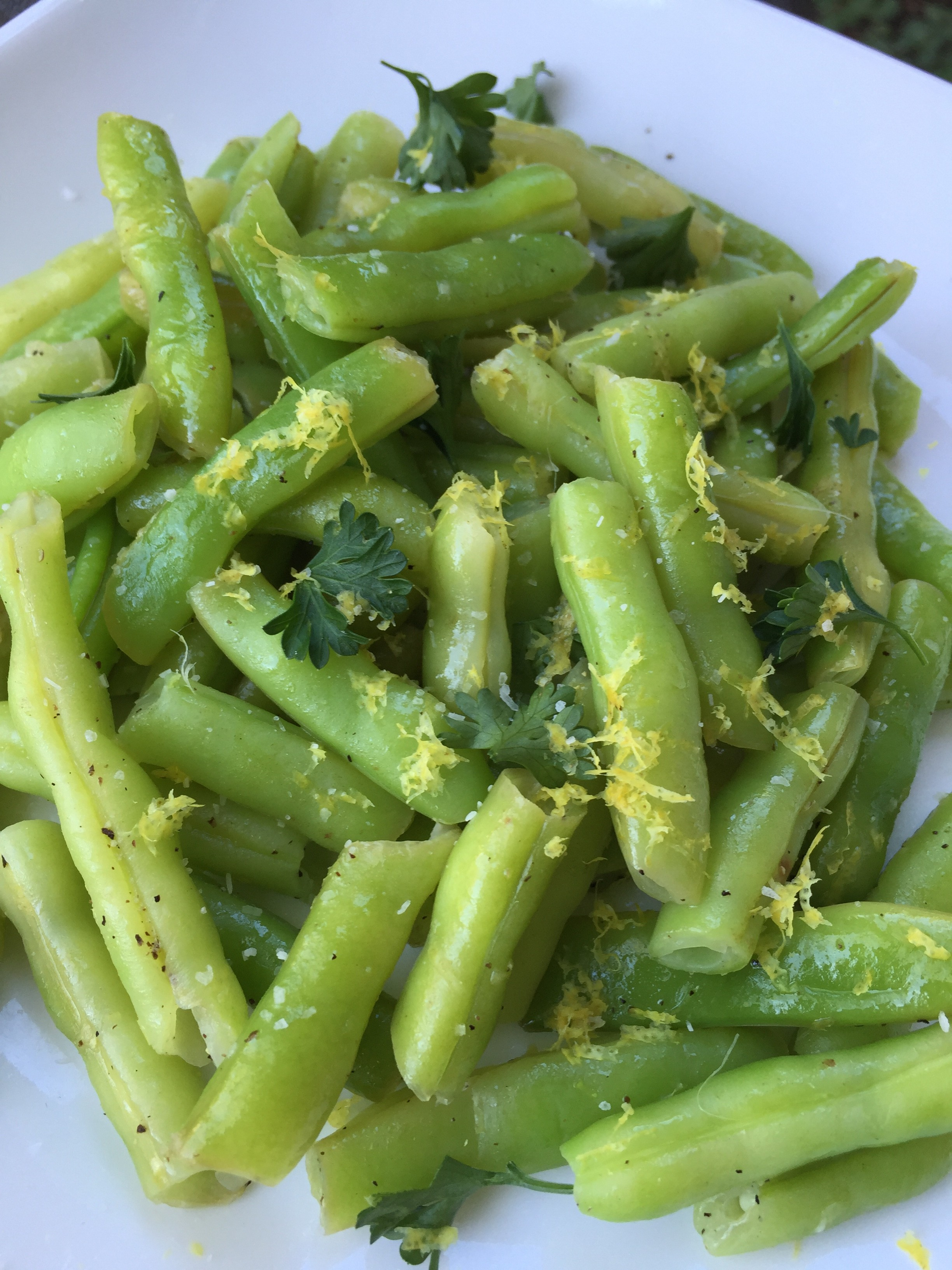 Green Beans with Lemon Butter